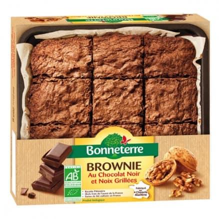 Brownie au Chocolat Noir & Noix Grillées