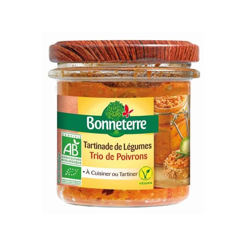 bonneterre  Bonneterre Tartinade de Légumes Trio de Poivrons 135 g En tartines,... par LeGuide.com Publicité