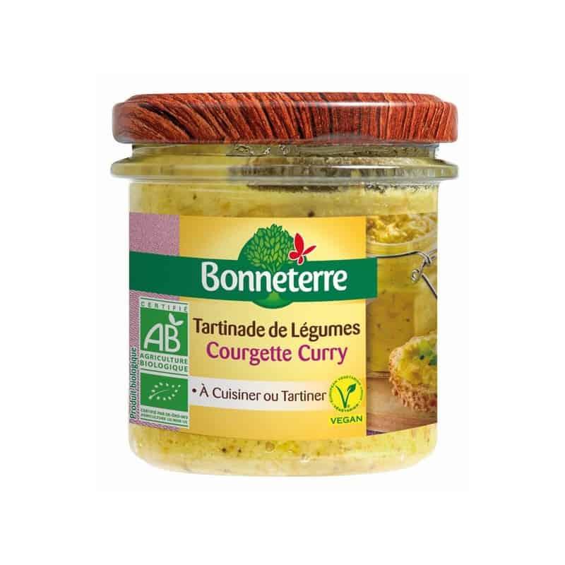 bonneterre  Bonneterre Tartinade de Légumes Courgette Curry 135 g En tartines,... par LeGuide.com Publicité