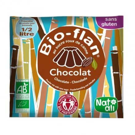 Bio-Flan Sucré Chocolat