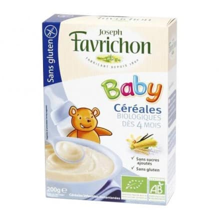 Céréales Sans Gluten Baby