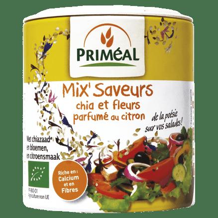 Mix'Saveurs Chia et Fleurs parfumé au citron