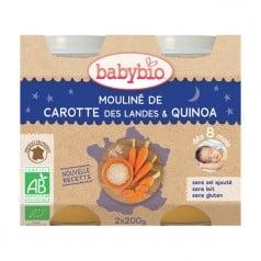 Petits Pots Mouliné de Carotte des Landes & Quinoa
