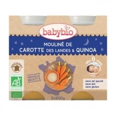 Bol Menu du jour Lègumes-Quinoa babybio