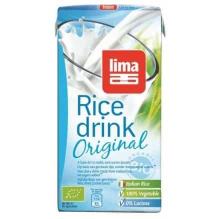 RICE DRINK ORIGINAL Boisson biologique à base de riz lima