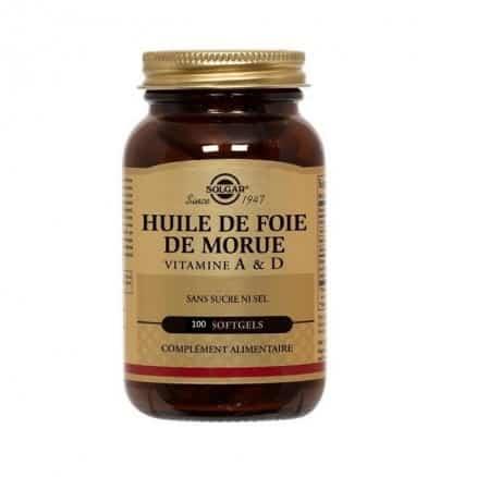 Huile de Foie de Morue Vitamines A & D