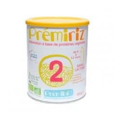 PrémiRiz Préparation à base de protéines végétales Suite 6 à 12 mois