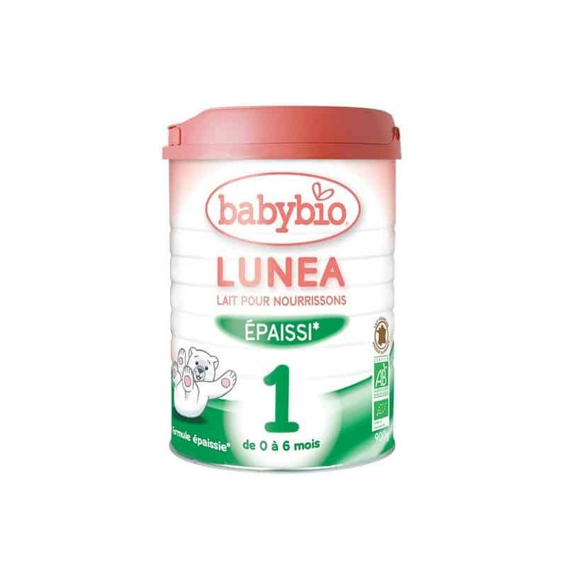 Lunea lait 1 ge de 0 6 mois 900 g babybio for Lit nourrisson