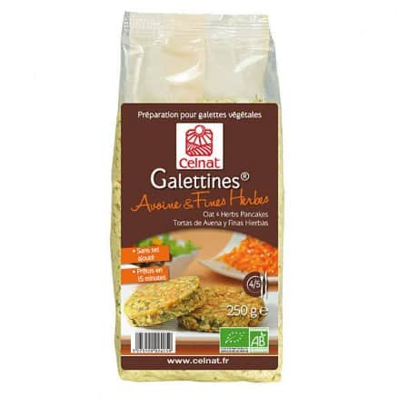Galettines Avoine & Fines Herbes