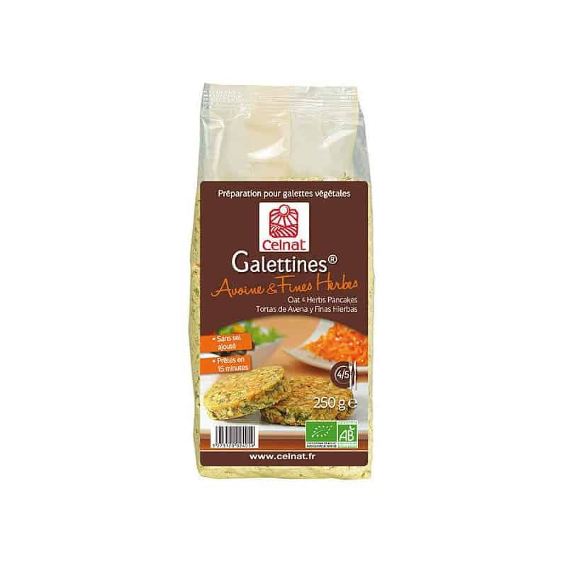 Galettines avoine fines herbes 250 g celnat for Ambiance cuisine avoine