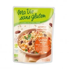 Quinoa Millet Haricots Rouges & Petits Légumes