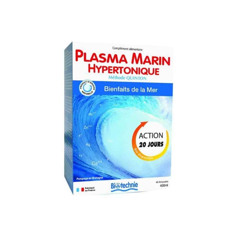biotechnie  Biotechnie Cure Plasma Marin Hypertonique x40 Cure Plasma Marin... par LeGuide.com Publicité