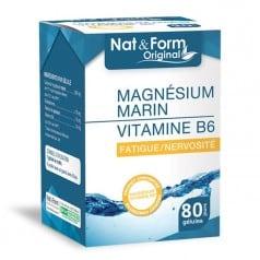 Magnésium Marin + Vitamine B6 80 gélules