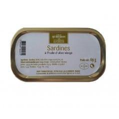 Sardines à l'Huile d'Olive Vierge