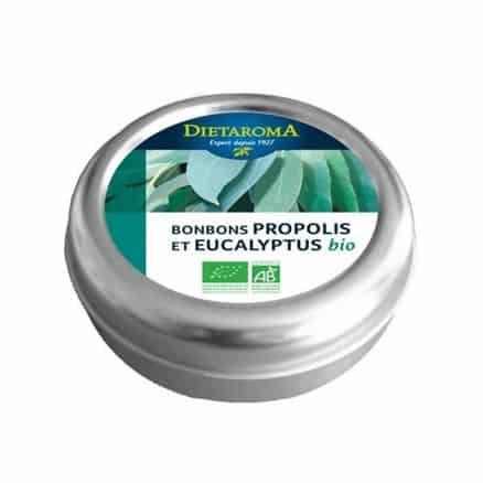 Bonbons à la Propolis H.E d'Eucalyptus Dietaroma