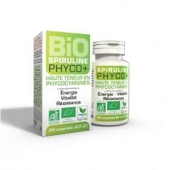 Spiruline Bio 500 mg Phyco+