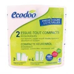 Essuie-tout compact écologique recyclé