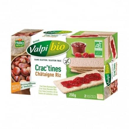 Crac'tines Châtaigne Riz Sans Gluten