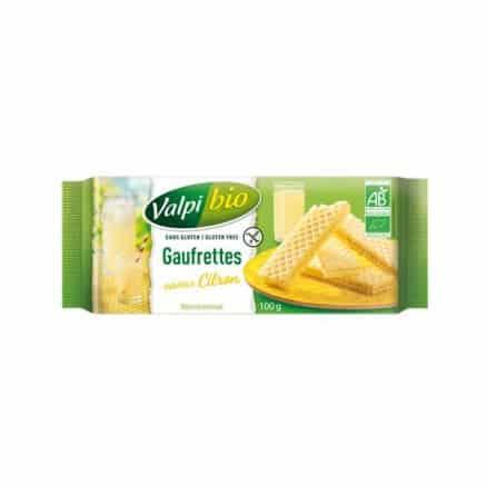 Gaufrettes Citron Sans Gluten