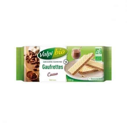 Gaufrettes Cacao Sans Gluten