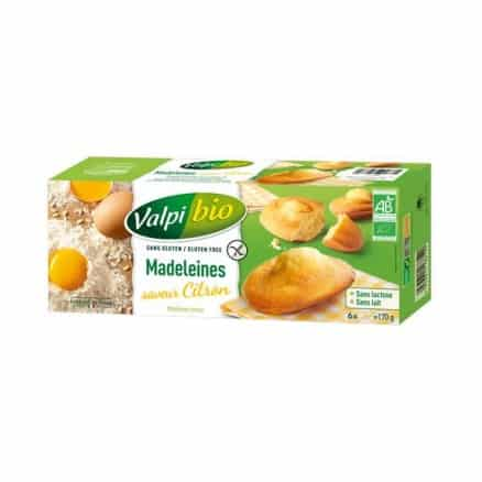 Madeleines Citron Sans Gluten