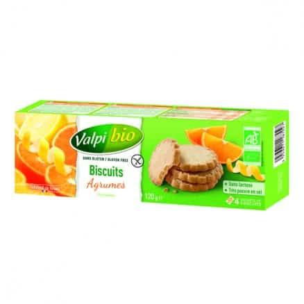 Biscuits Agrumes Sans Gluten
