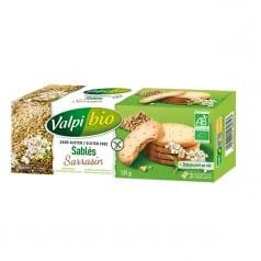 Sablés Sarrasin Sans Gluten