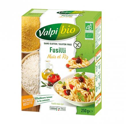 Fusilli Maïs Riz Sans Gluten