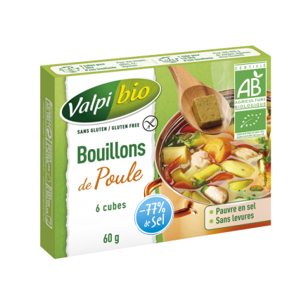 Bouillons de Poule Sans Gluten