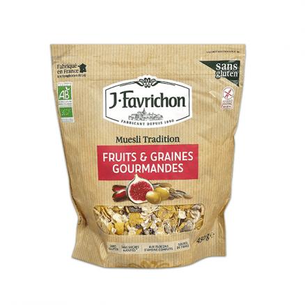 Muesli Fruits & graines Gourmandes Sans Gluten