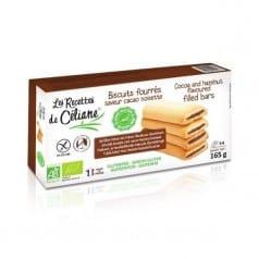 Biscuits Fourrés Cacao Noisette Sans Gluten