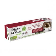 Biscuits Nappés Chocolat Noir Sans Gluten