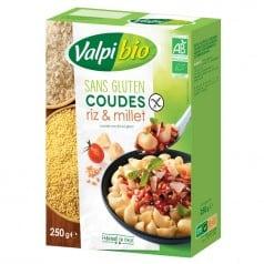 Coudes Riz & Millet Sans Gluten
