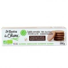 Sablés Enrobés Chocolat Sans Gluten