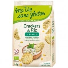 Crackers de Riz au Romarin