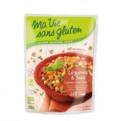 Légumes & Soja Cuisinésà l'Orientale Sans Gluten