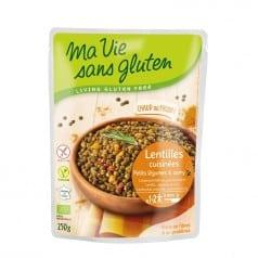 Lentilles Cuisinées Petits Légumes & Curry Sans Gluten