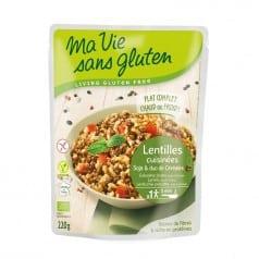 Lentilles Cuisinées Soja & Duo de Céréales Sans gluten