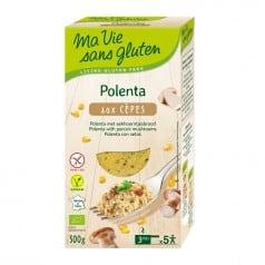 Polenta aux Cèpes Sans Gluten
