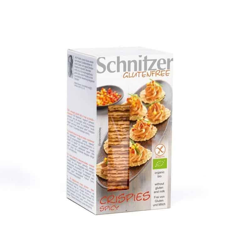 Crispies Epicés Sans Gluten 60 G Schnitzer