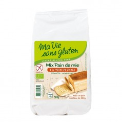 Mix Pain de Mie Sans Gluten