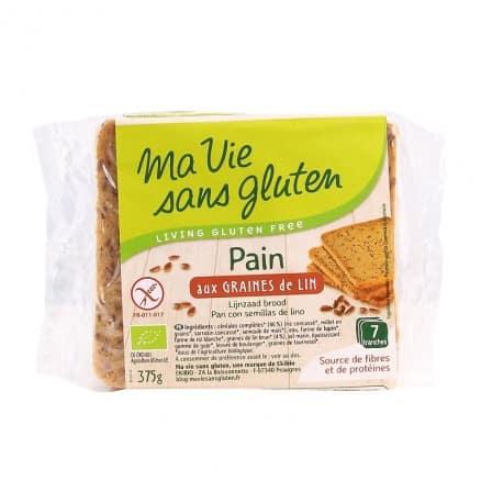 Pain aux Graines de Lin Sans Gluten