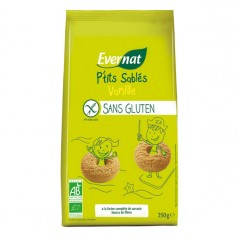 P'tits Sablés Vanille Sans Gluten
