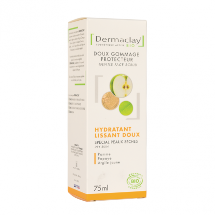 Gommage hydratant lissant Dermaclay