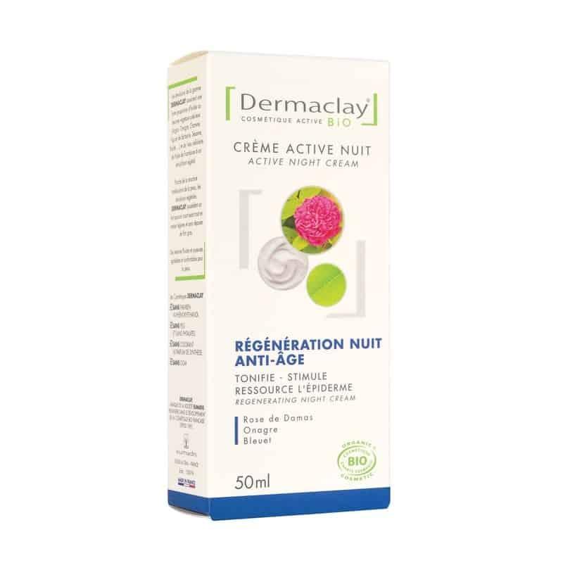 dermaclay  Dermaclay Crème Active Nuit Régénération Anti-age 50 ml Crème... par LeGuide.com Publicité
