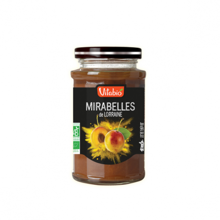 Confiture Délice Mirabelles Sans Sucre Ajouté