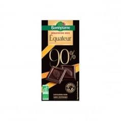 Chocolat Noir Équateur 90%