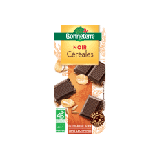 Chocolat noir céréales bio