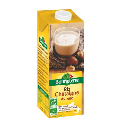 Boisson riz ch taigne avoine 1 l bonneterre for Ambiance cuisine avoine