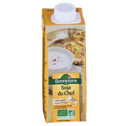 Soja du Chef Crème 100% Végétale